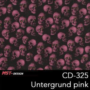 MST-Design, Wassertransferdruck, Folie CD-325, Untergrund pink
