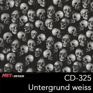 MST-Design, Wassertransferdruck, Folie CD-325, Untergrund weiß
