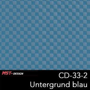 MST-Design, Wassertransferdruck, Folie CD-33-2, Untergrund blau