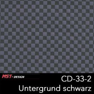 MST-Design, Wassertransferdruck, Folie CD-33-2, Untergrund schwarz