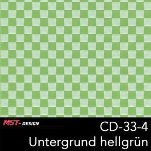 MST-Design, Wassertransferdruck, Folie CD-33-4, Untergrund hellgrün
