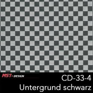 MST-Design, Wassertransferdruck, Folie CD-33-4, Untergrund schwarz