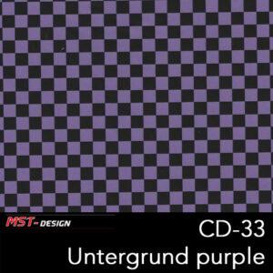 MST-Design, Wassertransferdruck, Folie CD-33, Untergrund purple