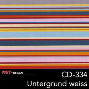 MST-Design, Wassertransferdruck, Folie CD-334, Untergrund weiß