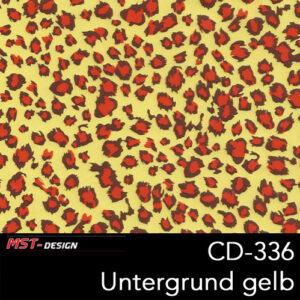 MST-Design, Wassertransferdruck, Folie CD-336, Untergrund gelb