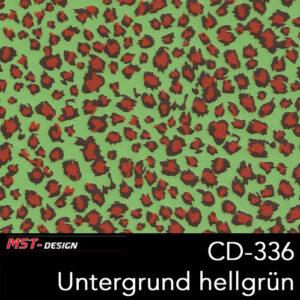 MST-Design, Wassertransferdruck, Folie CD-336, Untergrund hellgrün
