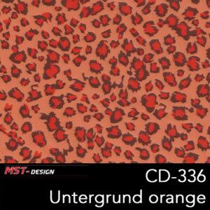 MST-Design, Wassertransferdruck, Folie CD-336, Untergrund orange
