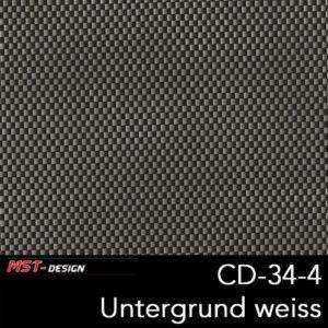 MST-Design, Wassertransferdruck, Folie CD-34-4, Untergrund weiß