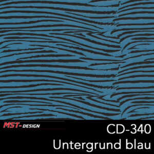 MST-Design, Wassertransferdruck, Folie CD-340, Untergrund blau