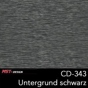 MST-Design, Wassertransferdruck, Folie CD-343, Untergrund schwarz