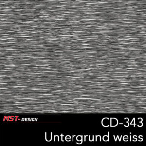 MST-Design, Wassertransferdruck, Folie CD-343, Untergrund weiß