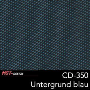 MST-Design, Wassertransferdruck, Folie CD-350, Untergrund blau