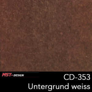 MST-Design, Wassertransferdruck, Folie CD-353, Untergrund weiß