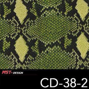 MST-Design, Wassertransferdruck, Folie CD-38-2