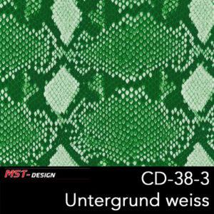 MST-Design, Wassertransferdruck, Folie CD-38-3, Untergrund weiß