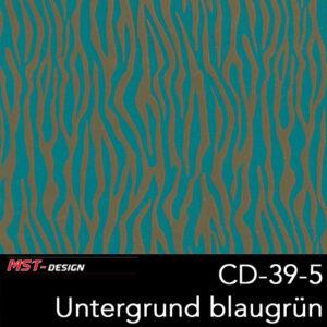 MST-Design, Wassertransferdruck, Folie CD-39-5, Untergrund blaugrün