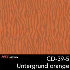 MST-Design, Wassertransferdruck, Folie CD-39-5, Untergrund orange