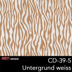 MST-Design, Wassertransferdruck, Folie CD-39-5, Untergrund weiß