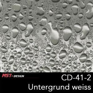 MST-Design, Wassertransferdruck, Folie CD-41-2, Untergrund weiß