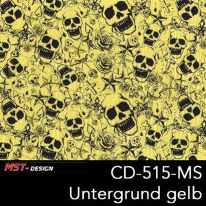 MST-Design, Wassertransferdruck, Folie CKP-515-MS, Untergrund gelb