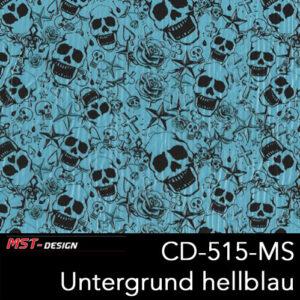 MST-Design, Wassertransferdruck, Folie CKP-515-MS, Untergrund hellblau
