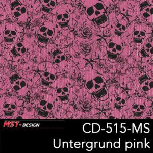 MST-Design, Wassertransferdruck, Folie CKP-515-MS, Untergrund pink