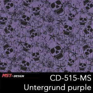 MST-Design, Wassertransferdruck, Folie CKP-515-MS, Untergrund purple