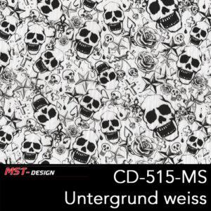MST-Design, Wassertransferdruck, Folie CKP-515-MS, Untergrund weiß