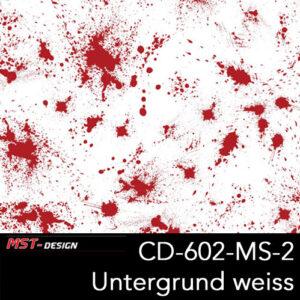 MST-Design, Wassertransferdruck, Folie CD-602-MS-2, Untergrund weiß