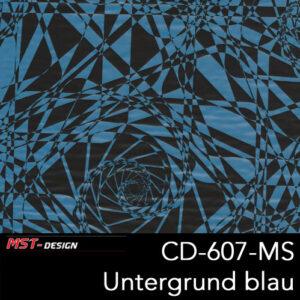 MST-Design, Wassertransferdruck, Folie CD-607-MS, Untergrund balu