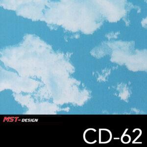MST-Design, Wassertransferdruck, Wolken Format, Folie CD-62