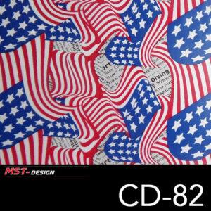 MST-Design, Wassertransferdruck, Folie CD-82
