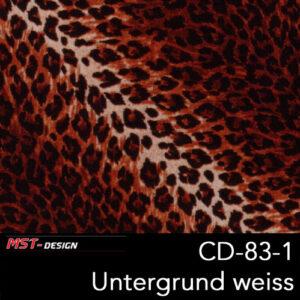 MST-Design, Wassertransferdruck, Folie CD-83-1, Untergrund weiß