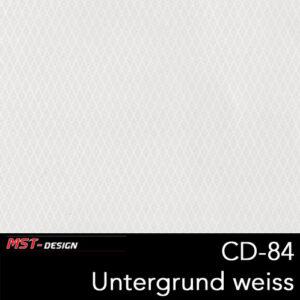 MST-Design, Wassertransferdruck, Folie CD-84, Untergrund weiß