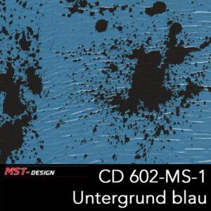 MST-Design, Wassertransferdruck, Folie CD-602-MS-1, Untergrund blau