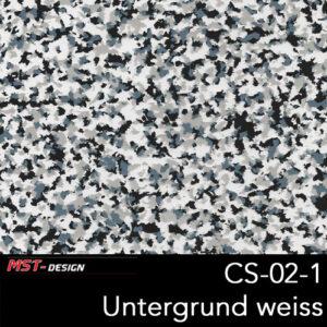MST-Design, Wassertransferdruck, Folie CS-02-1, Untergrund weiß