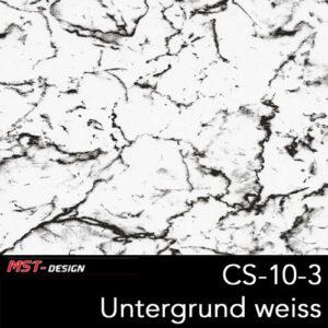 MST-Design, Wassertransferdruck, Folie CS-13-3, Untergrund weiß