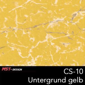 MST-Design, Wassertransferdruck, Folie CS-10, Untergrund gelb