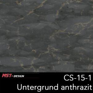 MST-Design, Wassertransferdruck, Folie CS-15-1, Untergrund anthrazit