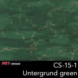 MST-Design, Wassertransferdruck, Folie CS-15-1, Untergrund grün