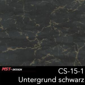 MST-Design, Wassertransferdruck, Folie CS-15-1, Untergrund schwarz