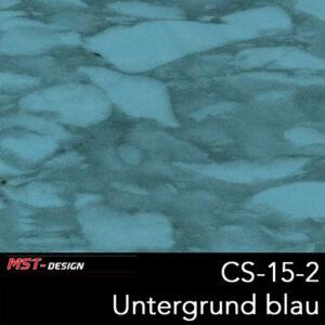 MST-Design, Wassertransferdruck, Folie CS-15-2, Untergrund blau