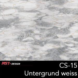 MST-Design, Wassertransferdruck, Folie CS-15, Untergrund weiß