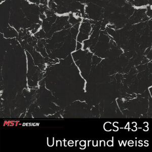 MST-Design, Wassertransferdruck, Folie CS-43-3, Untergrund weiß