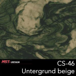 MST-Design, Wassertransferdruck, Folie CS-46, Untergrund beige