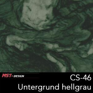 MST-Design, Wassertransferdruck, Folie CS-46, Untergrund hellgrau