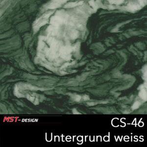 MST-Design, Wassertransferdruck, Folie CS-46, Untergrund weiß