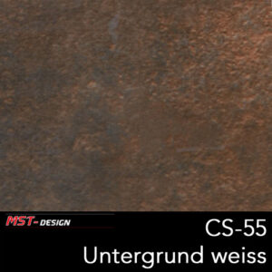 MST-Design, Wassertransferdruck, Folie CS-55, Untergrund weiß