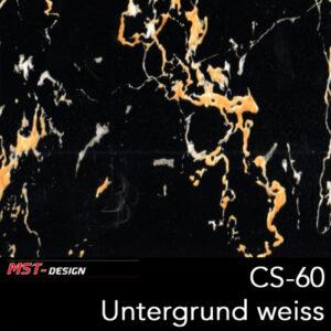MST-Design, Wassertransferdruck, Folie CS-60, Untergrund weiß