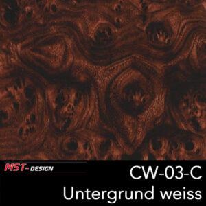 MST-Design, Wassertransferdruck, Folie CW-03-C, Untergrund weiß